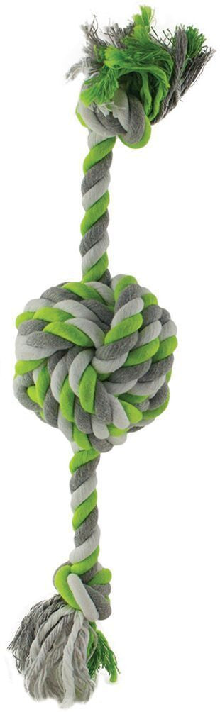 Green Rope with Knotted Ball 41cm Dog Toy
