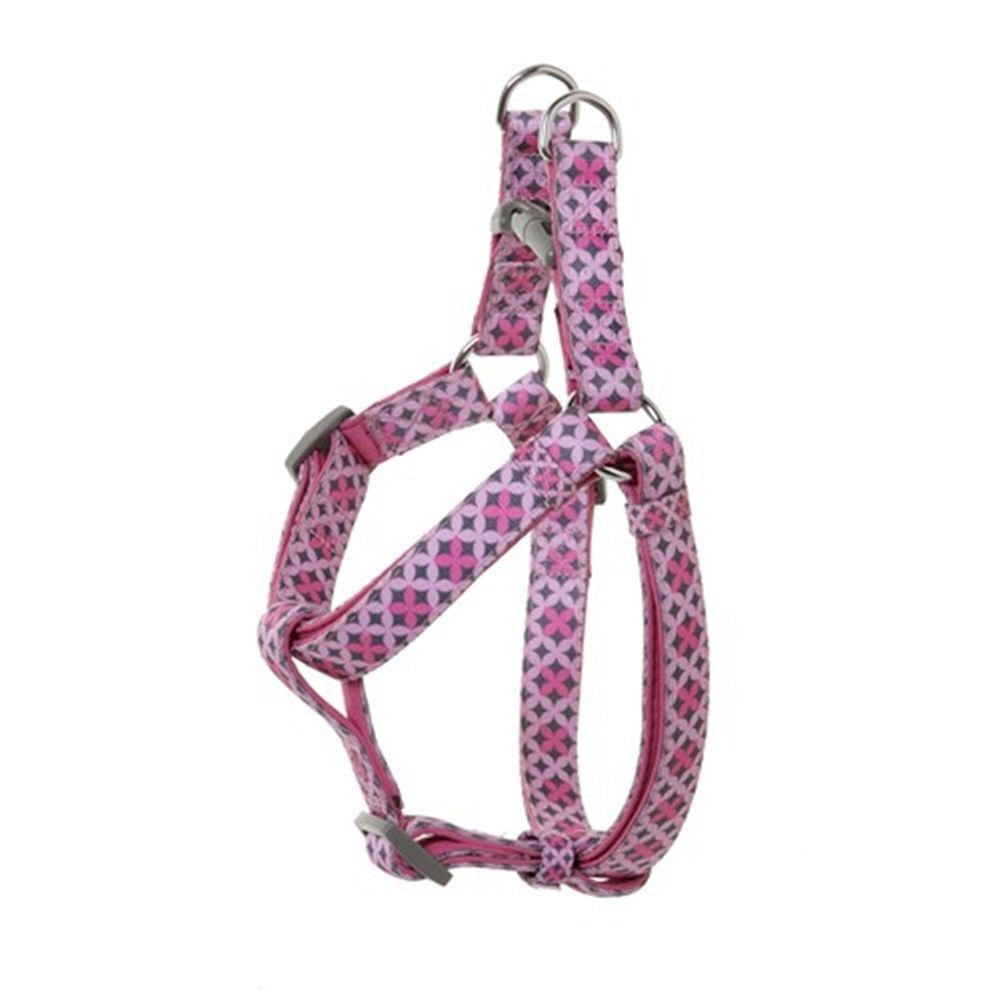 DOOG Toto Dog Harness - Pink & Grey
