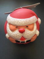 Xmas Christmas Santa Dog Ball Toy