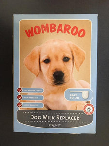 Wombaroo Dog Milk Replacer 215g
