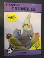 Passwell Crumbles 1kg for Birds
