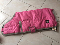 Tuff Dog Rug / Coat 600 Denier  100% waterproof Pink