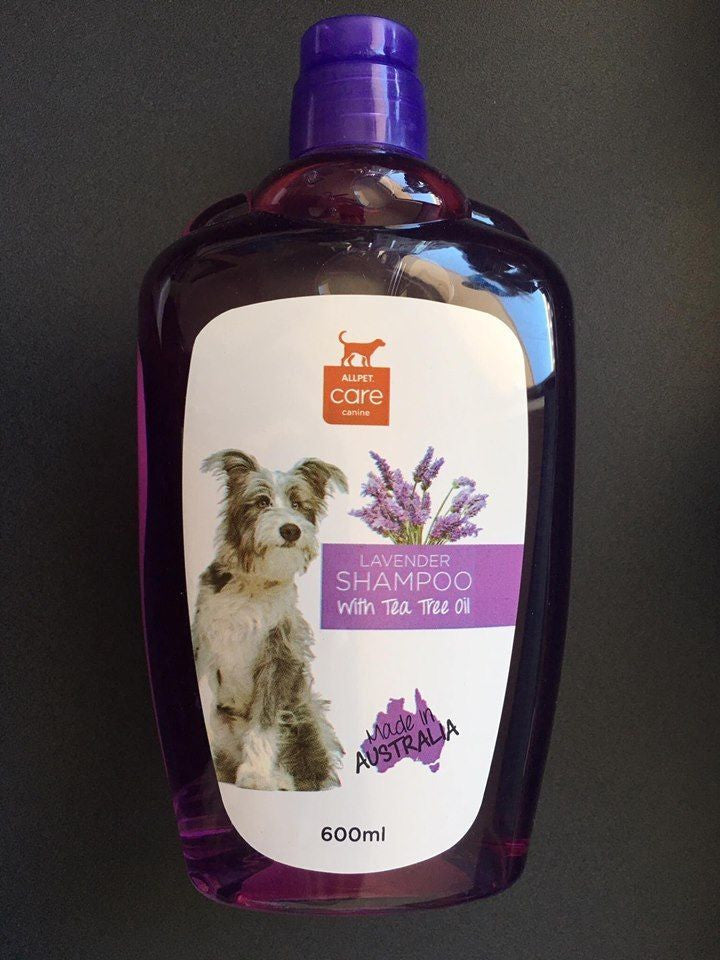 Lavendar Shampoo with Tea Tree Oil for Dogs 600ml