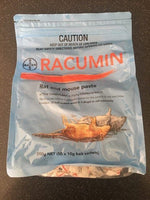 Bayer Racumin Rat & Mouse Paste 500g NET (50 x 10g bait sachets)