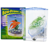 Penn Plax Betta Bow-Front Kit Aquarium Kit