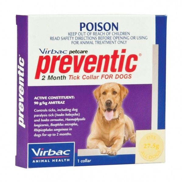 Virbac Tick Collar Preventic for Dogs