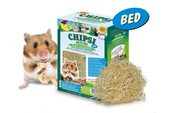 Chipsi Nesting Bed 0.05kg for Small Animals & Birds (Small Birds & Parakeets)