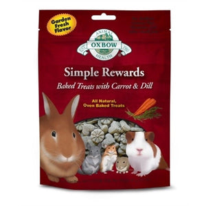 Simple Rewards Baked Treats with Carrot & Dill for Small Pets