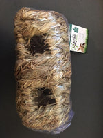 Grass Hut/Hay Nest for Mice & Hamsters Double 19cm