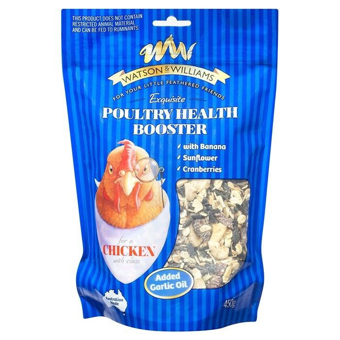 Watson & Williams Poultry Health Booster 450g