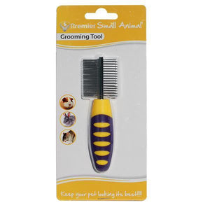 Premier Small Animal Double Sided Comb for Guinea Pigs, Rabbits & Mice