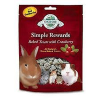 Oxbow Simple Rewards Baked Treats with Cranberry 60g