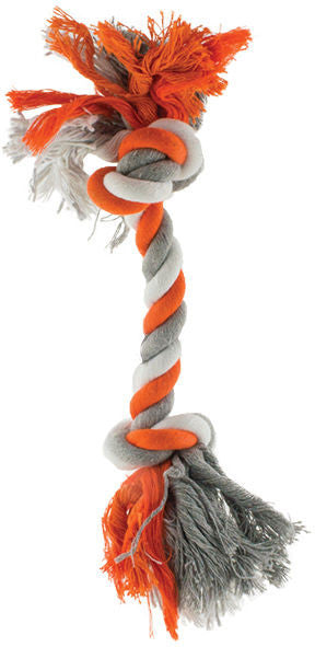 Orange Rope 23cm Dog Toy