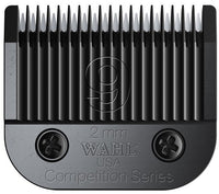 Wahl Ultimate Blade Set #9 2mm (Black)