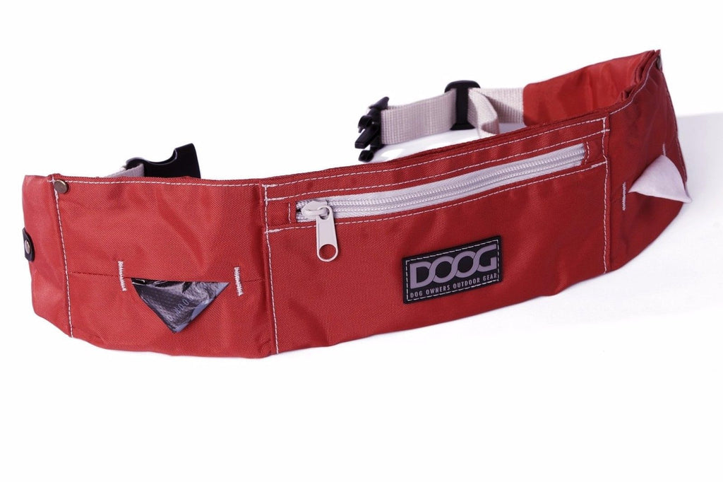DOOG Walkie Belt - Red for Dog Walking