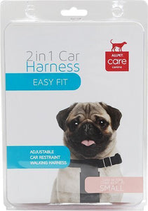 2 in 1 Car Harness for Dogs