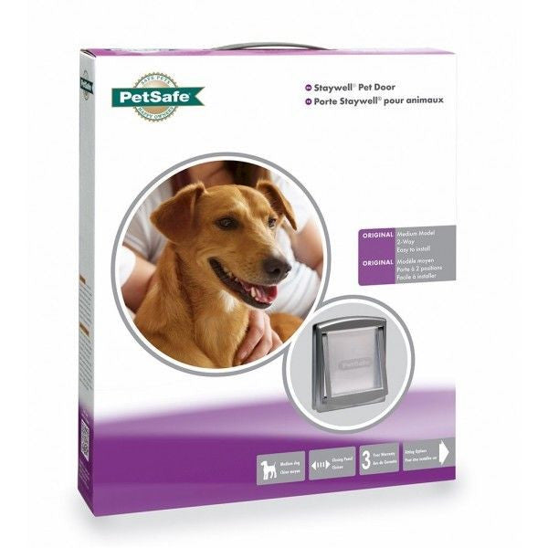 Petsafe Staywell Dog Door Original Grey Small