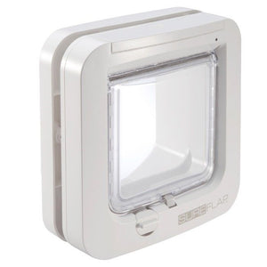SureFlap Microchip Cat Door, Flap Opening 142mm (W) x 120mm (H) Brown or White