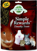 Simple Rewards Timothy Treats for Rabbits, Guinea Pigs, Hamsters & Small Pets