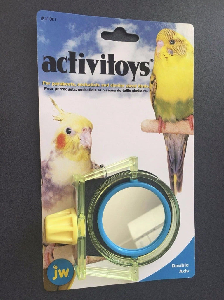 JW Double Axis Bird Toy for Parakeets, Cockatiels & Similar Sized Birds