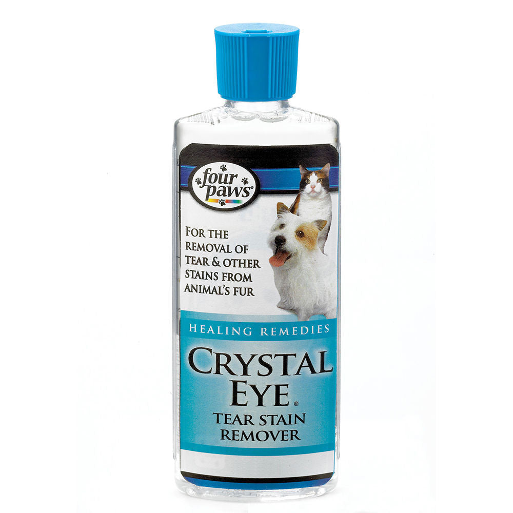 Four Paws Crystal Eye Tear Stain Remover for Dogs & Cats 118ml