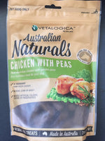 Vetalogica Chicken with Peas Natural Grain Free Dog Treats 210g