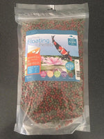 Care Aqua Premium Fish Food Floating Pellets Koi & Goldfish 1kg Medium 6mm