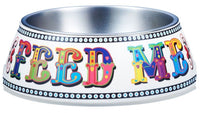 Gummi Pet Feed Me Bowl for Dogs & Cats