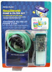 Penn Plax Smallworld Pump & Filter Kit for Healthy Fish & Clear Water