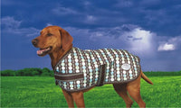 SALE!! Weatherbeeta Landa Dog Rug Coat Blue Earth Spots Waterproof
