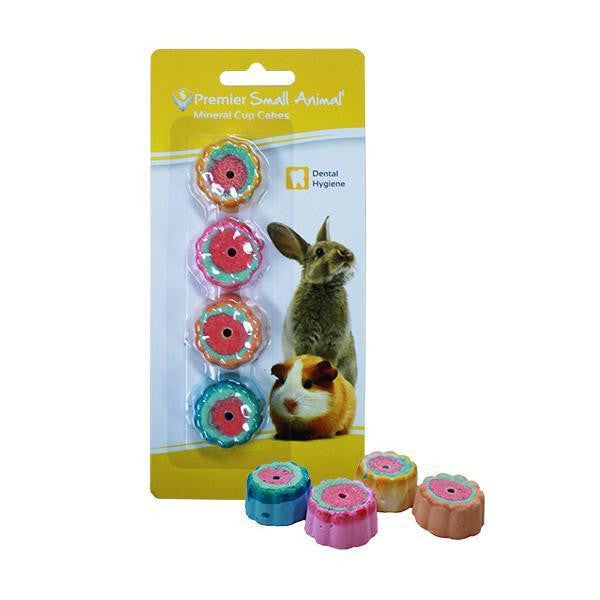 Premier Small Animal Mineral Cupcakes for Rabbits & Guinea Pigs, 4 pack