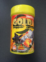 Sanyu Gold Flake Food for Goldfish 25g/100ml