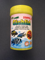 Sanyu Cichlid Flake Food for Cichlid and Most Large Tropical Fish 25g
