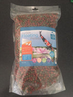 Care Aqua Premium Fish Food Floating Pellets Koi & Goldfish 1kg Large
