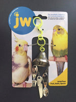 JW Fork, Knife, Spoon Bird Toy for Parakeets, Cockatiels and Similar Sized Birds