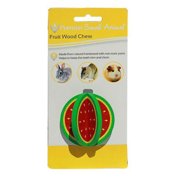 Premier Small Animal Watermelon Wood Chew for Rabbits, Rats & Guinea Pigs