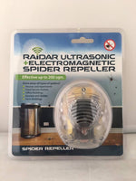 Raidar Ultrasonic + Electromagnetic Spider Repeller