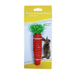 Premier Small Animal Carrot Shaped Chew for Guinea Pigs & Rabbits