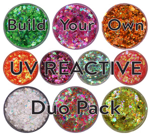 Build-Your-Own Duo Pack - UV Reactive - Small (19g)