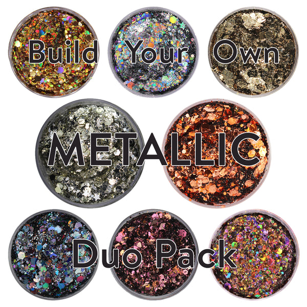 Build-Your-Own Duo Pack - Metallic - Small (15g)