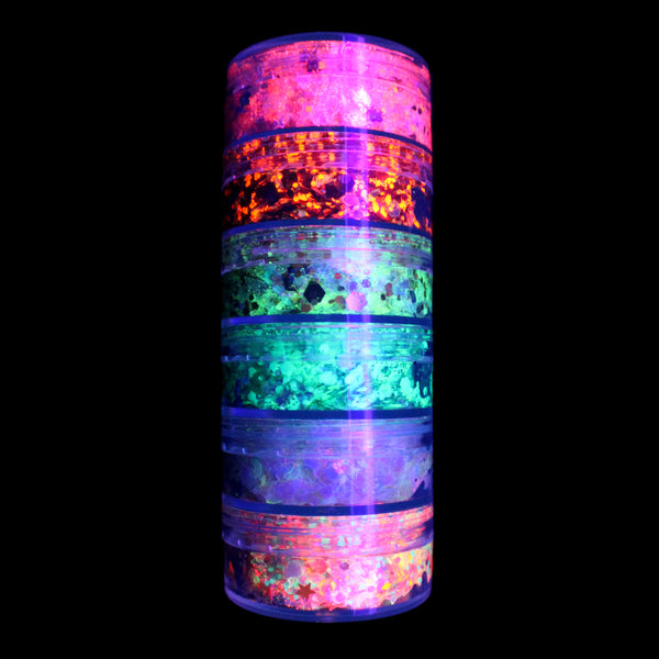6-Color Stacked Jar (UV)
