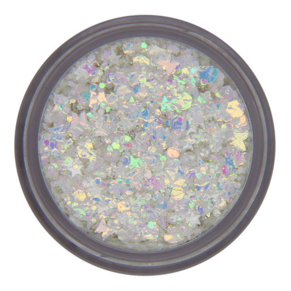 NEW!!! White Pearl UV Unicorn
