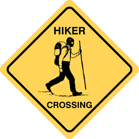 Hiker Crossing