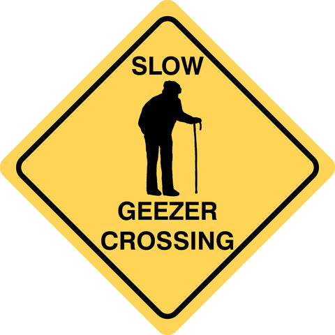 Slow Geezer Crossing