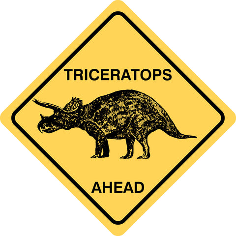 Triceratops Ahead