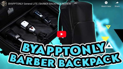 BYAPPTONLY General LITE | BARBER BACKPACK REVIEW [Cuts_By_Chaz]