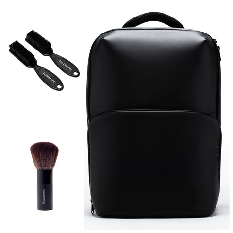 The General Lite Barber Backpack with Fade Neck Brush Bundle 1