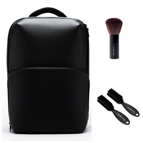 The General Lite Barber Backpack with Fade Neck Brush Bundle 2