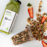 #55 Glowing Greens Smoothie + Granola