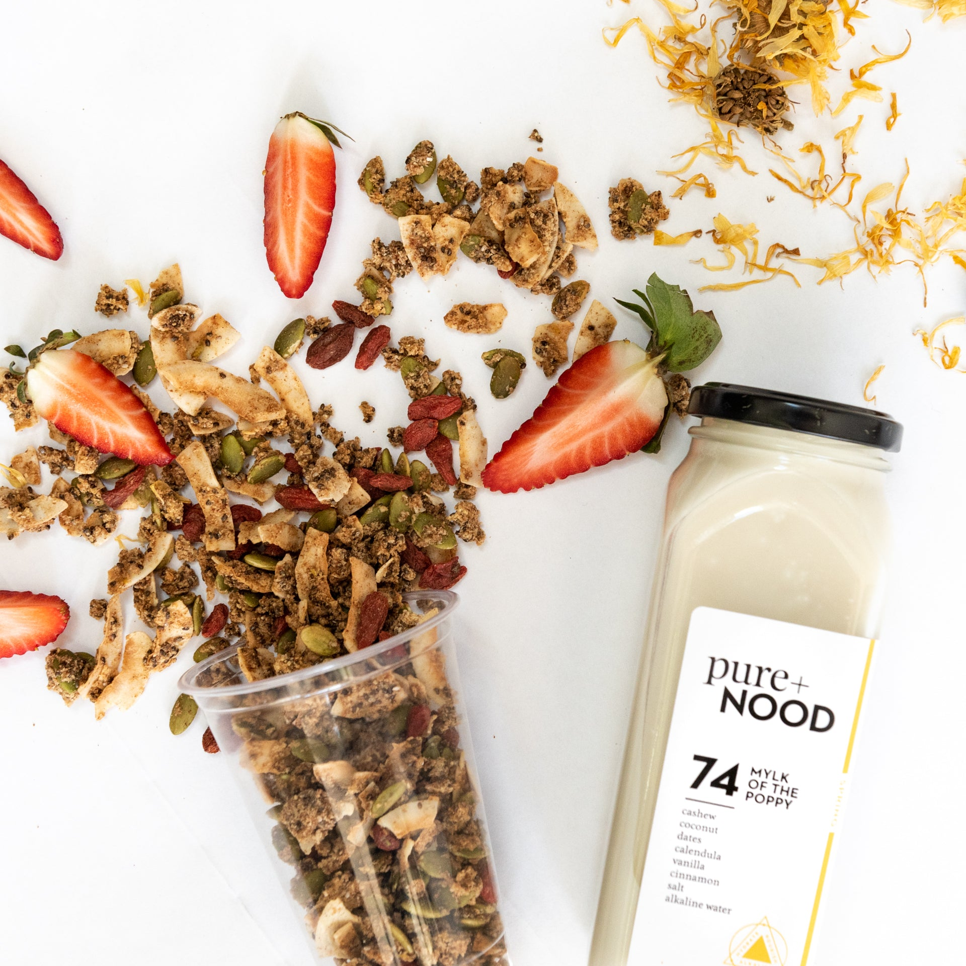 #74 Mylk Of The Poppy + Granola